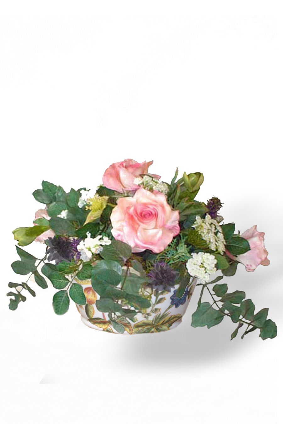 Jacky Silk Flowers Artificial Arrangements Pene Dene