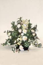Cassandra - silk flowers - Artificial Flower Arrangement