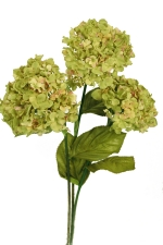 Hydrangeas green 3 - Artificial Flower Arrangement