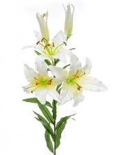 Lily white - Artificial Flower Arrangement