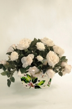 Georgina - artificial roses - Artificial Flower Arrangement