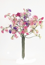 Sweet Peas - Artificial Flower Arrangement