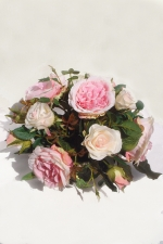 Clea - Artificial roses - Artificial Flower Arrangement