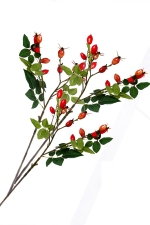 3 Rose Hip sprays - Artificial Flower Arrangement