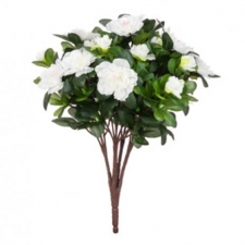 Azalea bush white - Artificial Flower Arrangement