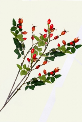 Rose Hip Sprays 3 Artificial Flower Arrangement