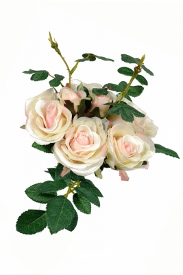 Rose Bouquet Pink Artificial Flower Arrangement
