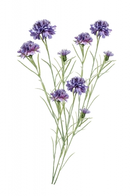 Meadow Cornflower 3 Artificial Flower Arrangement