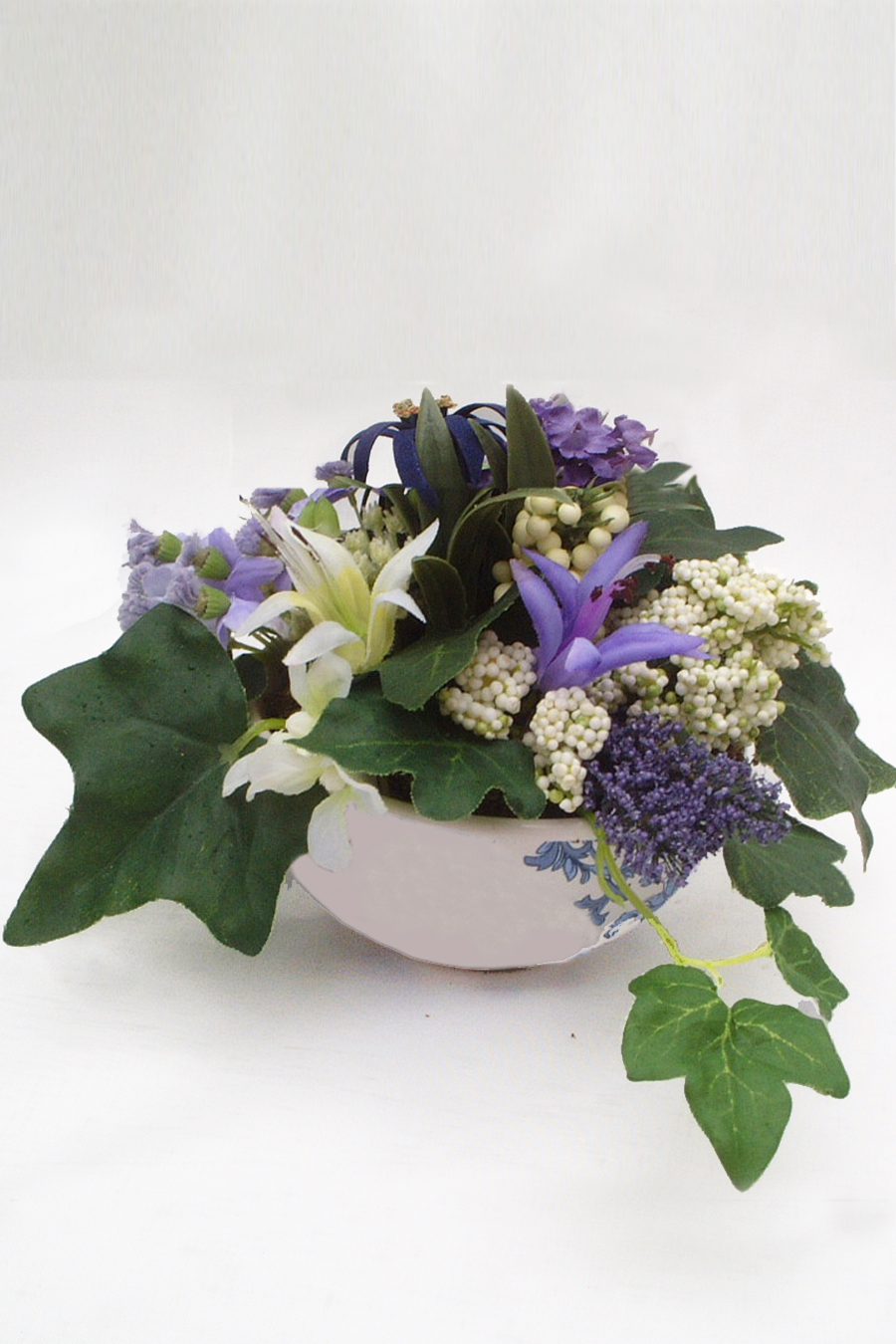 Anya Silk Flowers Artificial Arrangements Pene Dene
