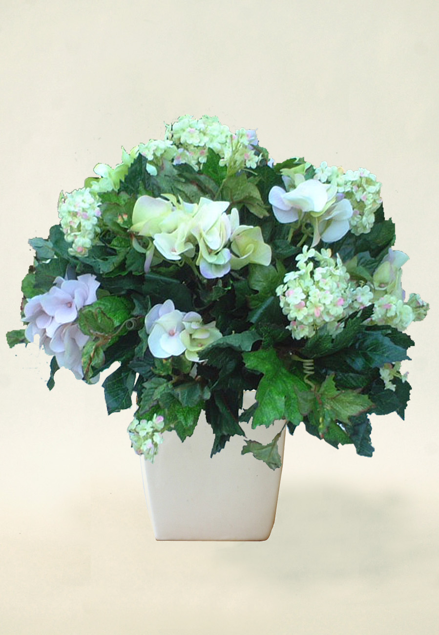 how to make a flower arrangement with artificial flowers