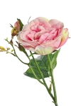Rose Pale Pink 3 - Silk Flowers Artificial Flower Arrangement