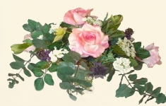 Jacky - Silk Flowers Artificial Flower Arrangement