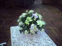 Belinda - Silk Flowers Artificial Flower Arrangement