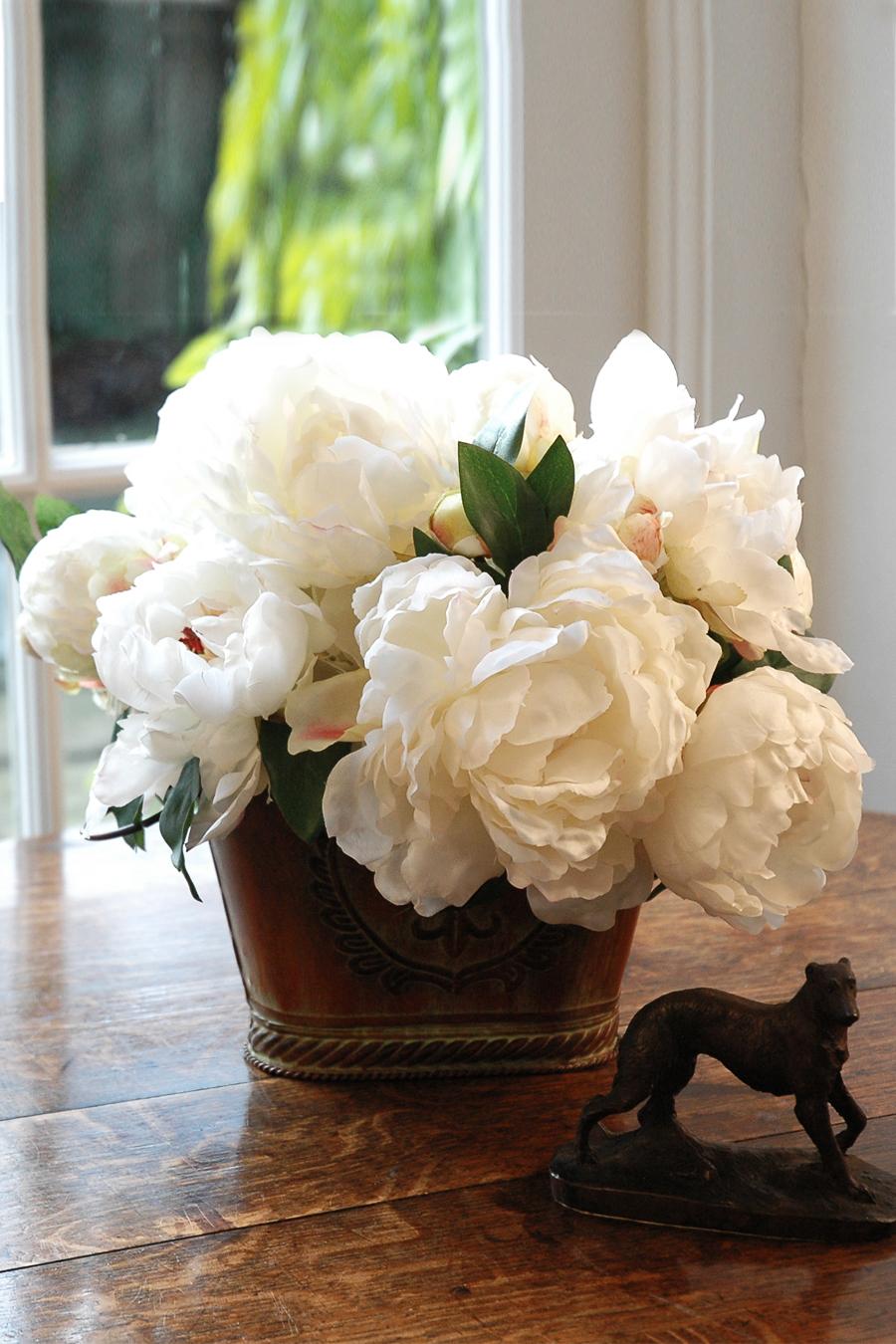 Adeline silk peonies silk flowers artificial arrangements pene adeline silk peonies silk flowers artificial flower arrangement mightylinksfo